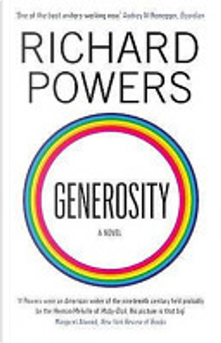 Generosity by Richard Powers