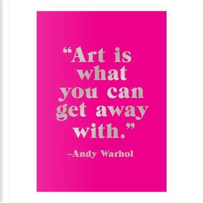 Andy Warhol Sticky Notes Book by Galison