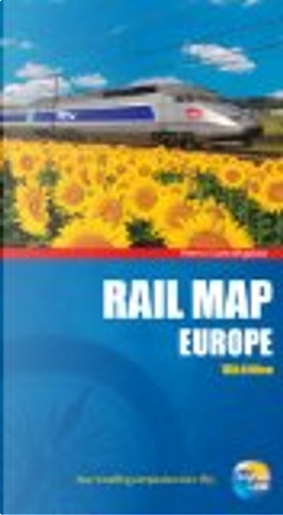 Rail Map of Europe by Thomas Cook Publishing