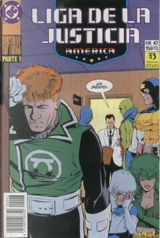 Liga de la Justicia América #47 by J. M. DeMatteis, Keith Giffen
