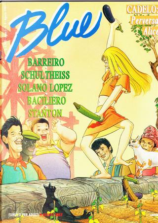 Blue n. 8 by Eric Stanton, Francisco Solano Lopez, Matthias Schultheiss, Paolo Baciliero, Silvio Cadelo
