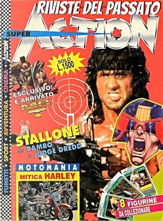 Super Action n. 1, anno I, giugno 1994 by Agostino Origone, Franco Origone, Luca Enoch, Mau Comix