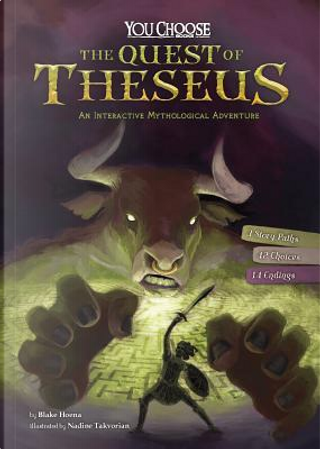 The Quest of Theseus by Blake Hoena