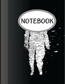 Notebook White Astronaut by Jason Patel