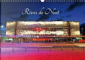 Reves de Nuit Calendrier Mural 2018 Din A3 Horizontal by Thebault P