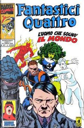 Fantastici Quattro n. 67 by Ann Nocenti, John Byrne