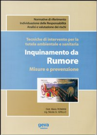 Tecniche di intervento per la tutela ambientale e sanitaria by Mario Romani, Nicola G. Grillo