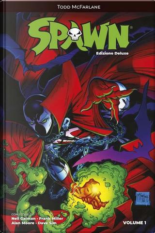 Spawn by Alan Moore, Dave Sim, Todd McFarlane, Neil Gaiman, Frank Miller