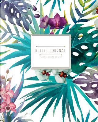 Bullet journal for quarterly (6 months blank calendar) by Banana Leaves