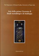 Atti della prima Giornata di Studi metologici di Indologia