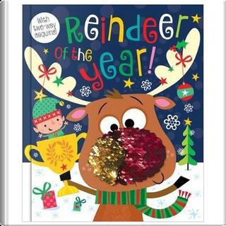 Reindeer of the Year (Christmas) (two-way sequins) by Rosie Greening