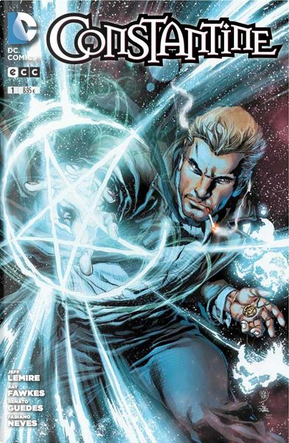 Constantine #1 by Jeff Lemire, Ray Fawkes