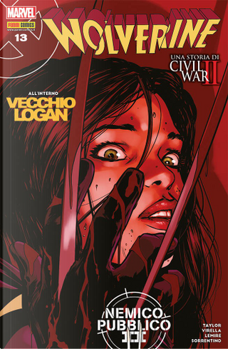 Wolverine n. 339 by Jeff Lemire, Tom Taylor