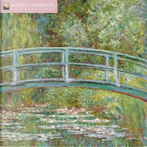 Monet's Waterlilies 2019 Calendar by Flame Tree