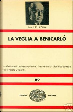 La veglia a Benicarló by Manuel Azaña
