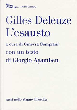 L'esausto by Gilles Deleuze
