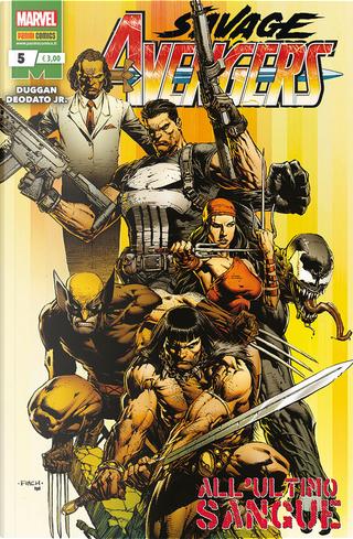 Savage Avengers n. 5 by Gerry Duggan