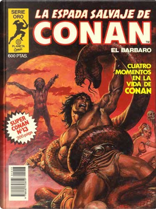Super Conan #13 by Alfredo Alcalá, Ernie Chan, John Buscema, Roy Thomas, Rudy Nebres, Sal Buscema, Sonny Trinidad, Tony DeZuñiga