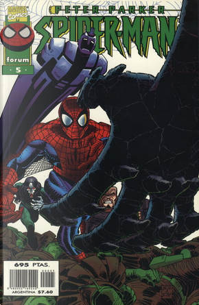 Peter Parker, Spider-Man #5 (de 23) by Glenn Greenberg, Howard Mackie, Todd DeZago, Tom DeFalco