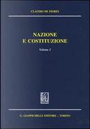 Nazione e costituzione by Claudio De Fiores
