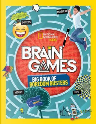 Brain Games (Activity Books) by National Geographic Kids