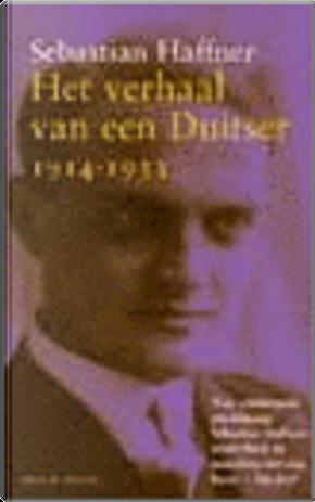 Het verhaal van een Duitser by Sebastian Haffner
