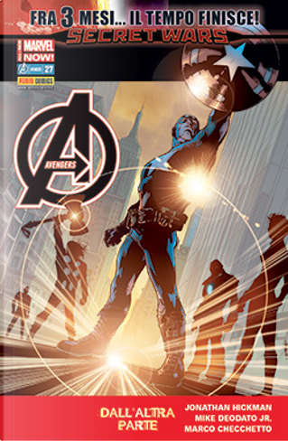 Avengers n. 42 by Frank Barbiere, Jonathan Hickman