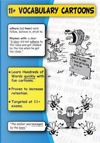 11+ Vocabulary Cartoons by A. Mason