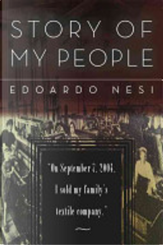 A Story of My People by Edoardo Nesi
