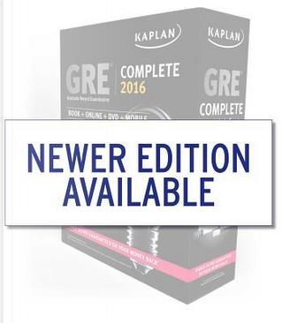 Kaplan GRE Complete 2016 by Inc. Kaplan
