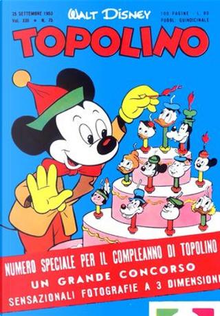 Topolino n. 75 by Bill Walsh, Carl Barks, Don Christensen