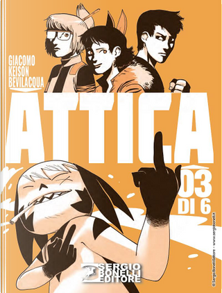Attica n. 3 by Giacomo Keison Bevilacqua