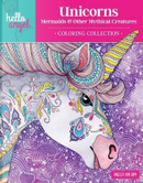 Unicorns, Mermaids & Other Mythical Creatures Coloring Collection by Angelea Van Dam