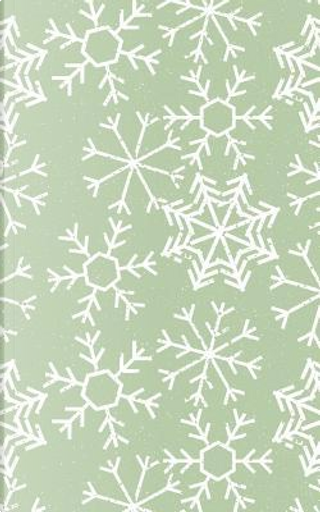 Pale Green Winter Snowflakes - Lined Notebook with Margins - 5x8 by Legacy