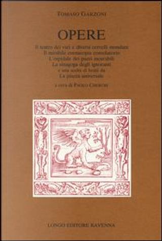 Opere by Tomaso Garzoni