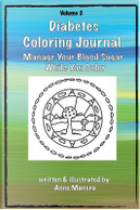 Diabetes Coloring Journal by Anne Manera