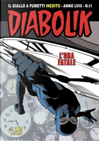 Diabolik anno LVIII n. 11 by Andrea Pasini, Mario Gomboli, Roberta Finocchiaro
