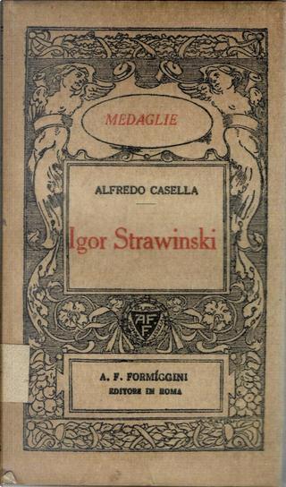 Igor Strawinski by Alfredo Casella