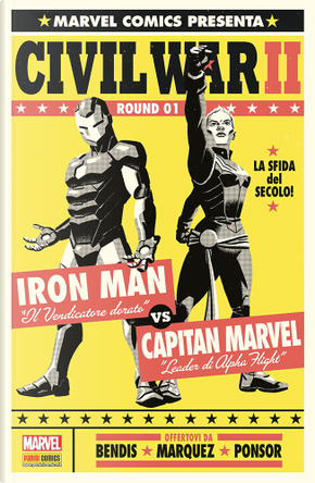 Civil War II #1 - Variant Super FX by Brian Michael Bendis