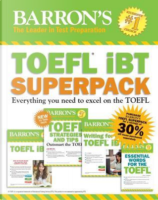 TOEFL IBT Superpack con CD by Barron's