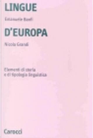 Lingue d'Europa by Emanuele Banfi, Nicola Grandi
