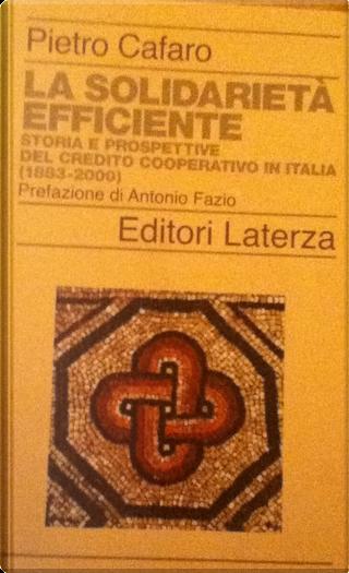 La solidarietà efficiente by Pietro Cafaro