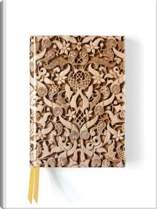 Alhambra Stone Relief Foiled Journal by Flame Tree