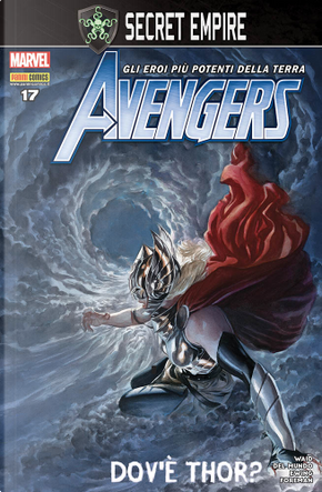Avengers n. 92 by Mike Del Mundo