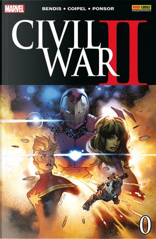Civil War II #0 by Brian Michael Bendis, Dennis Culver
