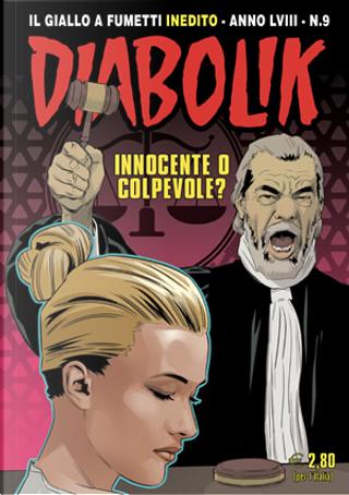 Diabolik anno LVIII n. 9 by Andrea Pasini, Mario Gomboli, Massimiliano Valentini, Roberto Altariva