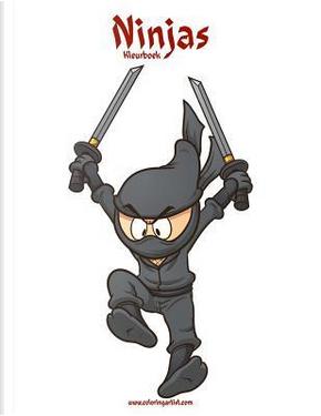 Ninjas Kleurboek by Nick Snels