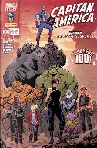 Capitan America n. 100 by Chris Samnee
