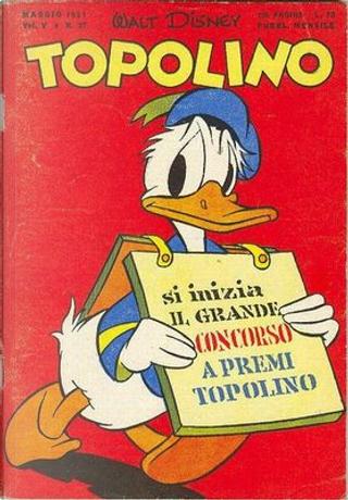 Topolino n. 27 by Bill Walsh, Bill Wright, Floyd Gottfredson, Gil Turner, Paul Murry, Riley Thomson, Ted Osborne