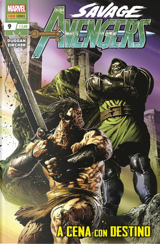 Savage Avengers n. 9 by Gerry Duggan